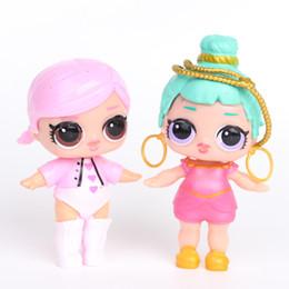 Hot LoL Poupées avec biberon Américain PVC Kawaii Enfants Jouets Anime Figurines Réalistes Poupées Reborn pour filles 8 Pcs / meubles acc ? partir de fabricateur