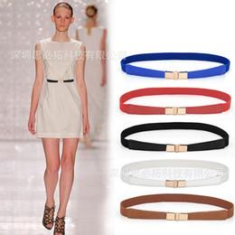 Le donne di modo vestono il grasso online-Versitile stirata elastica stretta cintura vestito decorativo sottile multi cinghia delle donne donne di modo - una generazione di grasso