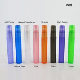 échantillons de bouteilles de parfum Promotion 8 ml voyage portable bouteille de parfum vaporisateur bouteilles échantillon des conteneurs vides atomiseur Mini bouteilles réutilisables 100 pcs