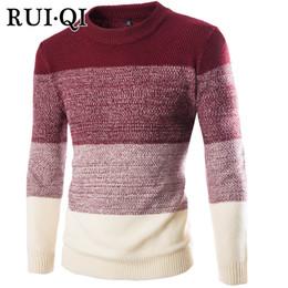 2019 свитер k Руи Ци 2018 осень повседневная мужская шею свитер тонкий вязать мужской свитер пуловер пуловер пуловер мужчины K-12-Y237 скидка свитер k