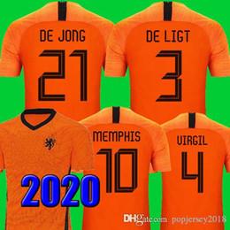 2020 bag gk Top nazionale thailandese di qualità nazionale Maglia olandese di calcio 2019 2020 DE JONG PROMES Maglia olandese da calcio DE LIGT VAN DIJK VIRGIL BLIND STROOTMAN MEMPHIS maglie 18 19 bag gk economici
