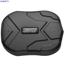 Rastreador gps usado on-line-TK905 Rastreamento em tempo real SMS GPRS Tracker Strong Magnet Tracker Locator for Personal and Vehicle Use Free App GPS
