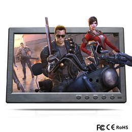 10,1 pouces Portable TFT LCD HD Moniteur Mini TV Écran D'affichage Ordinateur 2 Canaux Entrée Vidéo Moniteur de Sécurité HDMI VGA USB TV ? partir de fabricateur