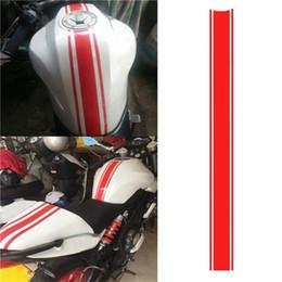 Etiquetas do tanque de combustível da motocic adesivos on-line-50 cm diy tanque de combustível adesivo à prova d 'água para a motocicleta de corrida acessórios engraçado decoração adesivo de moto decalques