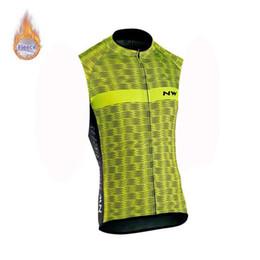 2019 NW Winter Thermal Fleece sin mangas Ciclismo Jersey Ropa Hombre Mtb Bicicleta Camisa Bicicleta sin mangas Top desde fabricantes