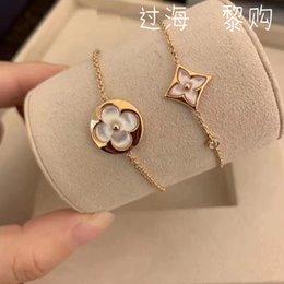 2019 bracelets pour femmes poignets COLOR BLOSSOM 2019 Or argent perlé pendentif Bracelets et design de marque Femmes Charme Bracelet Louis Bijoux De Luxe Accessoires