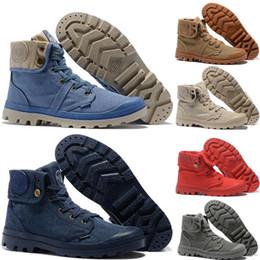 2019 Palladium Martens Boots Damen Herren Designer Sport Rot Weiß Schwarz Winter Turnschuhe beiläufige Turnschuhe Luxus ACE Ankle Boots freies