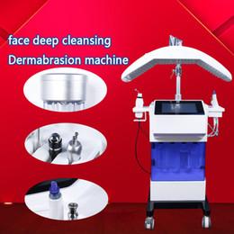 Hydrafacial yüz temizleme hydra dermabrazyon elmas mikrodermabrazyon makineleri cilt Scrubber koyu halkalar hydra yüz güzellik ekipmanları nereden