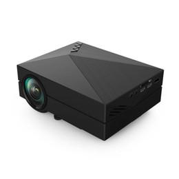 GM60 HD Mini Portable LED Projecteur Home Cinéma Multimédia Proyector Beamer HDMI VGA USB AV SD 1000LM Support 1920 * 1080 ? partir de fabricateur