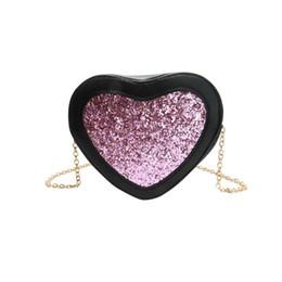 Сумки с сердечком онлайн-хорошее качество искусственная кожа женщины сумка девушка Bling Tote Crossbody сумка Bling сумки в форме сердца Messenger сумки дизайнер Bolso