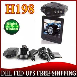 2,5-дюймовая камера онлайн-Автомобильный видеорегистратор DHL ИЛИ EMS 10 частей Dropshipping! 2,5-дюймовые камеры автомобиль TFT LCD с 120 градусами, ночное видение 6 IR LED H198 SC189