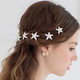 Estrela de yiwu on-line-Amazon top vendendo grampos de cabelo cocar yiwu fábrica grampo de cabelo de noiva estrelas criativo atacado haitgrips ganchos de cabelo