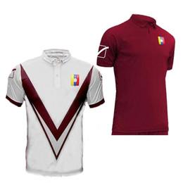 2019 Nuevo Venezuela hogar rojo blanco blanco América CUP hombres camiseta de fútbol de calidad tailandesa 19 20 Rondon Martinez Romana camisetas de fútbol S-2XL TAMAÑO desde fabricantes