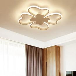araña rectangular para el comedor Rebajas Luces de araña LED modernas para estudio de dormitorio comedor iluminación AC85-260V casa rectángulo cuadrado para accesorios de araña led