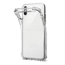 casos sumsung s6 Desconto TPU Ultra-Fino Caso Para O NOVO XR XS MAX claro Silicone Transparente Macio Transparente Casos para iphone X Sumsung S6