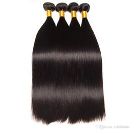 Acheter des cheveux péruviens vierges en Ligne-TFH Péruvien Cheveux Raides 100% Bundles de Tissage de Cheveux Humains Livraison Gratuite Peut acheter 4 Bundles Non remy 8-40 pouces cheveux vierges péruviens