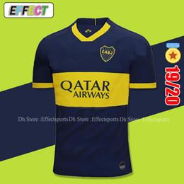Boca juniors uniformes de futbol online-Tailandia Calidad Boca Juniors 19 20 Home Kit Jerséis de fútbol Superliga Argentina 2019 2020 GAGO TEVEZ Carlitos Uniformes de fútbol Camisas