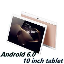 2019 tabletas baratas al por mayor Alta calidad Octa Core 10 pulgadas MTK6582 IPS pantalla táctil capacitiva dual sim 3G tablet teléfono pc Android 6.0 4GB 64GB MQ05