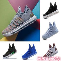 newest a81e0 35868 2019 kd low tops 2018 Nouveau Zoom KD 10 Anniversaire PE Oreo BHM Hommes  Chaussures KD