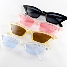 angle eyes Coupons - Hot Sale Small Triangle Fashion Sunglasses Cat Eye Women Sun Glasses Sharp Angle Frame Metal Hinge Good Quality Cheap Eyewear