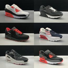 27809f396c6ea venta de zapatos corrientes Rebajas Rebajas 2019 Nuevo 90 Zapatillas de running  Hombre Mujer Barato Negro