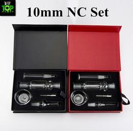Canada Kits NC 10mm Micro NC avec embout en acier inoxydable en verre sans dôme Offre