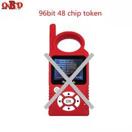 Chave do carro do obd on-line-1pc 96 bit 48 chip de token para JMD OBD Handy bebê Hand-held Car Key Chip Copier Auto programador chave