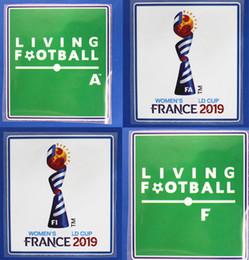 Patchs pour femmes en Ligne-Femmes 2019 patchs coupe du monde de football badge pour les femmes Coupe du monde badge 2019 femmes coupe du monde patch livraison gratuite
