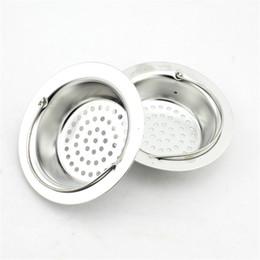 2019 filtro per lavandino Cucina Lavello in acciaio inox Tappo di scarico Tappo di scarico Cestino Catcher Cucina Strainer Cesto 2 dimensioni filtro per lavandino economici