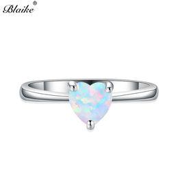 38ef5e20ee5f anillos de plata piedras azules para las mujeres Rebajas Blaike Mystic  White   Blue Opal Stone