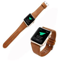 Argentina Venta caliente de moda hebilla de cuero reloj de pulsera correa de la correa vestido de dama para reloj Apple Watch 38mm dropship # 30 supplier watch band buckles for sale Suministro