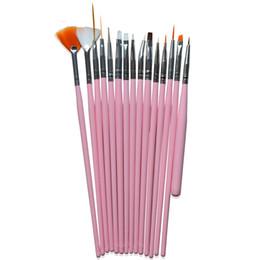 15 adet Pro Nail Art Süslemeleri Fırça Seti Araçları Profesyonel Boyama Kalem Yanlış İpuçları Uv Tırnak Jel Lehçe Için Yeni Nao24 nereden sahte boyama tedarikçiler