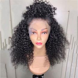Parrucche brasiliane online-Nuovo taglio di capelli per le donne nere riccia afro parrucca anteriore del merletto a prezzi accessibili brasiliani ricci crespi parrucche piene del merletto vendita calda parrucche economiche