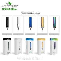 Airistech airis8 cera caneta vapor kit com bobina de aquecimento de quartzo 400 mah mini tamanho da bateria da pena da cera de Aairistech Official Store de