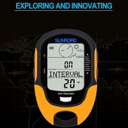 2019 termómetro de mochila 1 unid Sistema multifuncional de GPS Beidou Senderismo Escalada Equipo de Camping Altímetro con Brújula Accesorios Nuevo