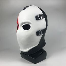 Halloween Club Poker Gesichtsmaske Galvanik Unisex Maske Cosplay Kostüm Filmstars Party Stage Clown Plastikmaske von Fabrikanten