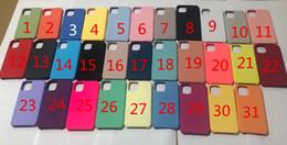 Canada Avoir LOGO Cas d'origine en silicone pour iphone 11 pro max Housse en silicone liquide pour iPhone 11 PRO Max avec boîte de détail Offre