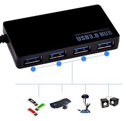 порты linux Скидка Продажа Высокоскоростной 5 Гбит / с 4-портовый USB 3.0 Портативный компактный адаптер-концентратор для ПК Портативный компьютер