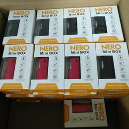 caixa de bateria mod mini Desconto Autêntico Nero Mini Box Mod Vaporizador Starter Kit 650 mAh Pré-aqueça VV Bateria com 0.5 ml Cartucho De Cerâmica para Espessura Óleo Vape caneta