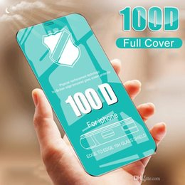 pannello tastiera Sconti Full Cover 100D vetro temperato Sulle per IPhone 8 7 6 6s più vetro di protezione per IPhone X XR XS MAX Film Screen Protector