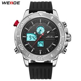 2019 relógios de pulso sports weide Weide esportes de quartzo de luxo digital led calendário religião relógio masculino pulseira de silicone analógico homens despertador resistente à água relógios de pulso sports weide barato