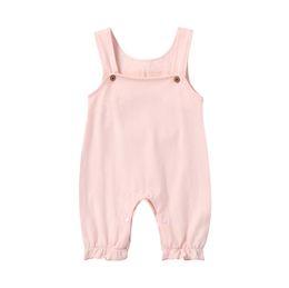 Baby, Kleinkind Designer Kleidung Strampler Baumwolle mit weißen Flügeln Overall komfortable einfache süße Button-up-Overall von Fabrikanten