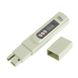 Caneta tds tester on-line-TDS Digital Medidor Monitor TEMP PPM Tester Caneta Medidores de LCD Vara de Água Pureza Monitores Mini Testador de Filtro Hidropônico TDS-3 Livre DHL 1255