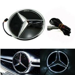 voiture de grillade Promotion LED Grilled avant Car Star Emblem Illuminated Logo Centre Badge Lampe avant pour Mercedes Benz 2015-2017 GLC GLE GLS