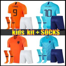 92fe5d51419a3 2019 camiseta fútbol holanda kit infantil 2018 2019 nueva camiseta de fútbol  Nederland 18 19 casa