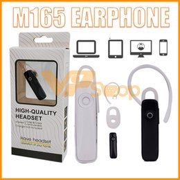 auriculares de un solo oído Rebajas M165 Auriculares estéreo inalámbricos Auriculares con Bluetooth Mini auriculares inalámbricos Bluetooth de manos libres para un solo oído Auriculares universales para todos los teléfonos