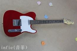 2019 hohlkörpergitarre l5 Kostenloser Versand HEISS! Telegitarre Hohe Qualität rote Telegitarre Ameican Standard-Telecaster-E-Gitarre auf Lager