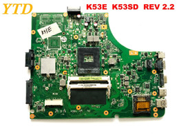 asus motherboard laptop Coupons - Original for ASUS K53SD K53E laptop motherboard K53E K53SD REV 2,2 tested good free shipping