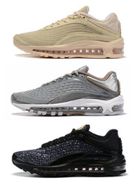 Streetwear sneakers online-Discount Cheap 2019 herren 99 DELUXE SE Laufschuhe, Streetwear Trainer Designer Sport Laufschuhe für Herren Stiefel, Yakuda Training Sneakers
