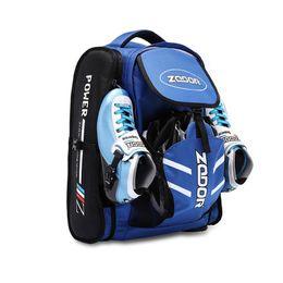 2019 rollerhandtaschen Original ZODOR Speedskates patines Träger täglich wasserdicht Schlittschuhe Rucksack 4x90 4x100 4x110 Skating Tasche blau rote Behälter